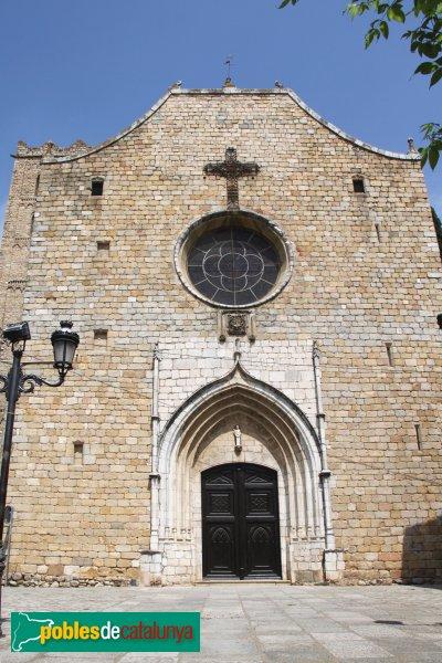Breda - Església de Sant Salvador, façana