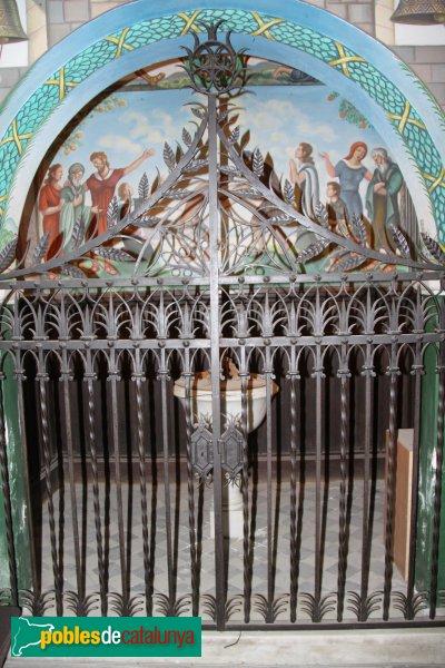 Breda - Església de Sant Salvador, baptisteri