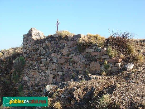 Sant Hilari Sacalm - Restes de la capella del castell de Solterra