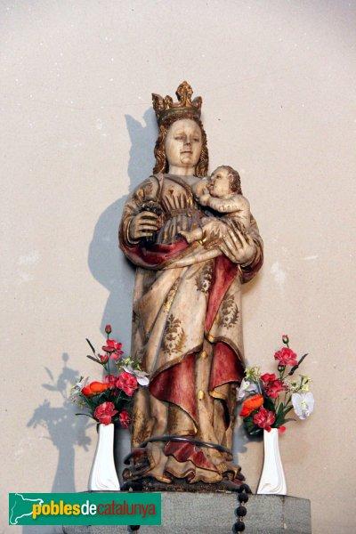 Susqueda - Santuari de la Mare de Déu del Far, imatge d'alabastre