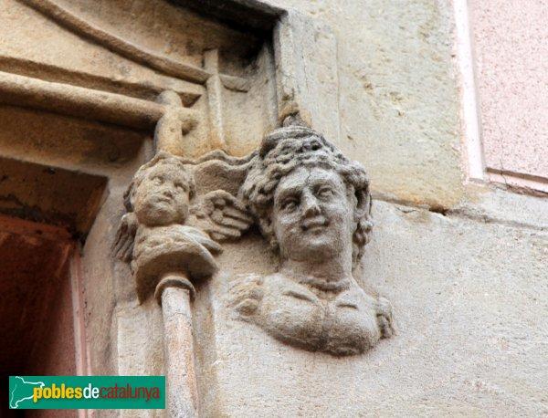 Sant Boi de Llobregat - Can Sabadell, detall finestral