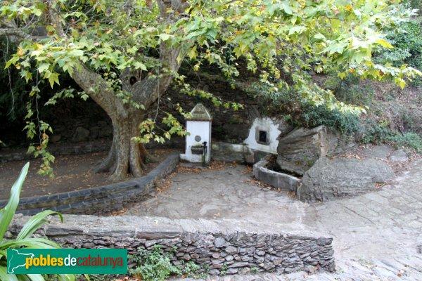 Port de la Selva - La Vall de Santa Creu, la font