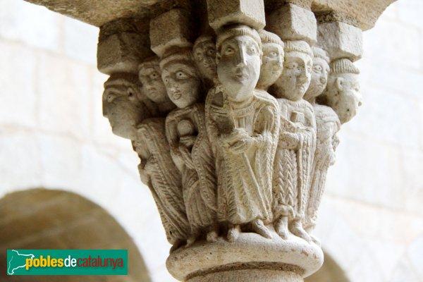 Port de la Selva - Sant Pere de Rodes, capitell del claustre
