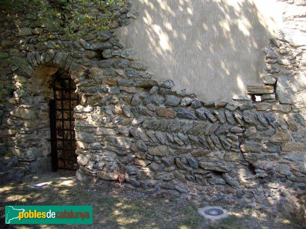 Port de la Selva - Sant Pere de Roda - Hospital pelegrins. Detall opus spicatum