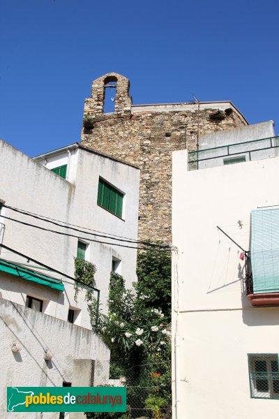 LLançà - Església de Sant Vicenç, capçalera amb espadanya