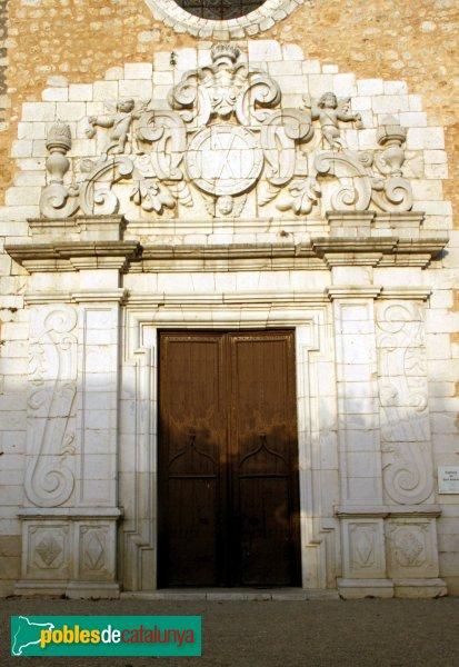 Borrassà - Església de Sant Andreu, portada