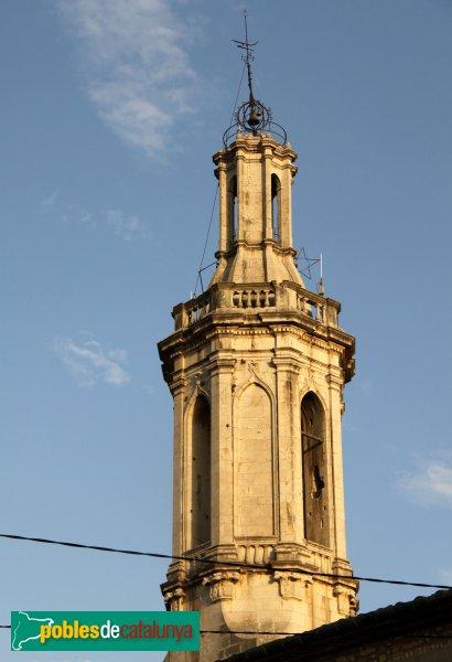 Borrassà - Església de Sant Andreu, campanar