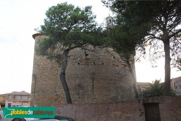 Borrassà - Església de Sant Andreu, absis
