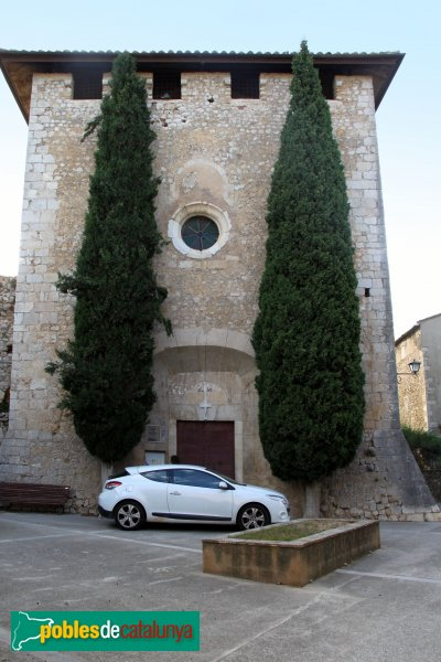 Avinyonet de Puigventós - Església de Sant Esteve