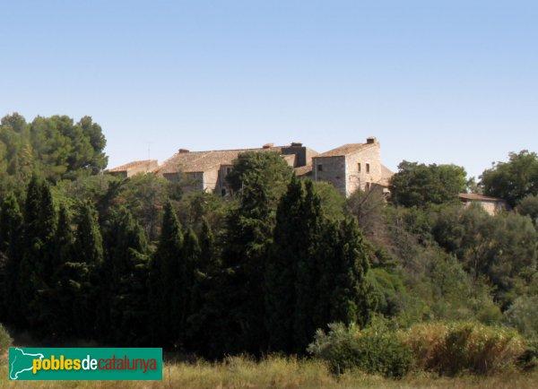 Avinyonet de Puigventós - Mas Serra, vista posterior
