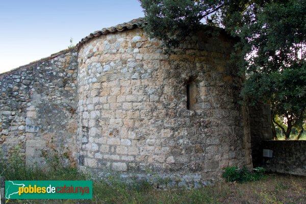 Avinyonet de Puigventós - Santa Eugènia, absis