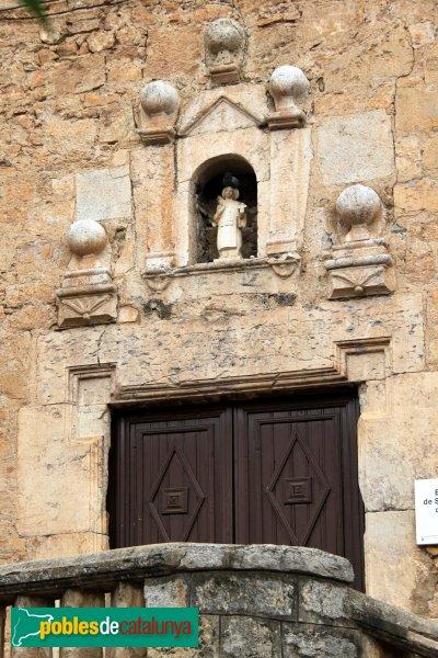 Biure - Església de Sant Esteve, portada
