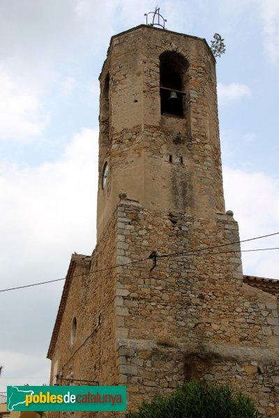 Biure - Església de Sant Esteve, campanar