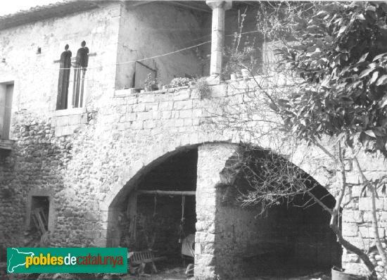 Boadella - Castell-palau, interior