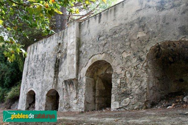 Les Escaules - Antics forns de ciment