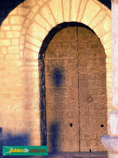 Santa Maria de Talló - Porta