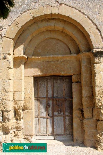 Cistella - Sant Martí de Vilarig, portada romànica