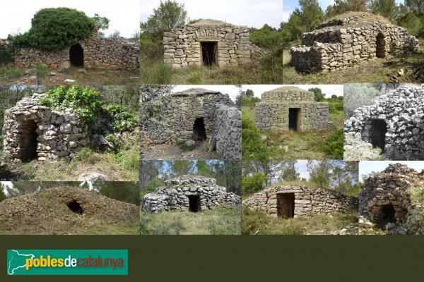 Llers - Cabanes de pedra seca