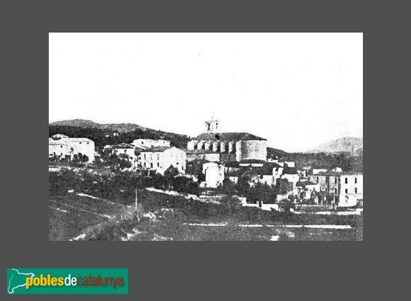 Llers - Església antiga, destruïda l'any 1939
