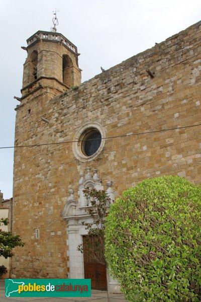 Navata - Església parroquial de Sant Pere