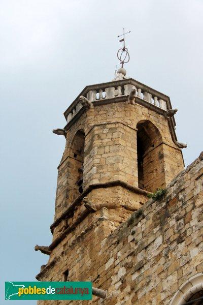 Navata - Església parroquial de Sant Pere, campanar