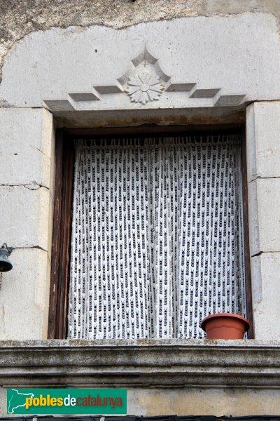 Navata - Can Miró, finestra