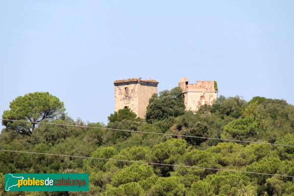 Riudarenes - Torres de Puigsardina
