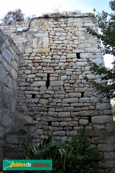 Riudarenes - Castell d´Argimón