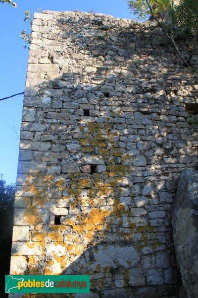 Riudarenes - Castell d'Argimón