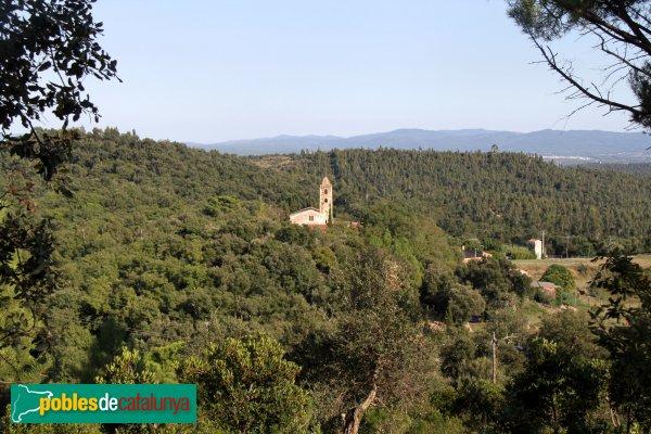 Riudarenes - Sant Martí de l'Esparra, des d'Argimon