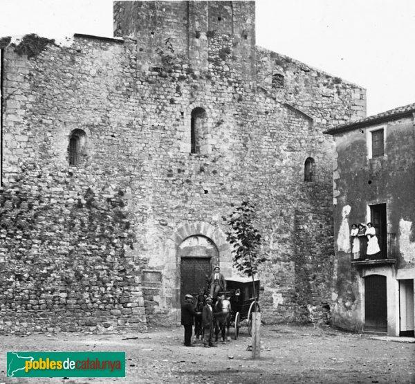Terrades - Santa Cecília, edifici romànic destruït