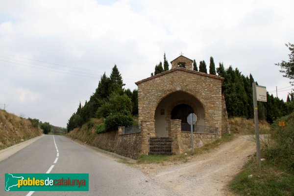 Terrades - Ermita de Sant Sebastià