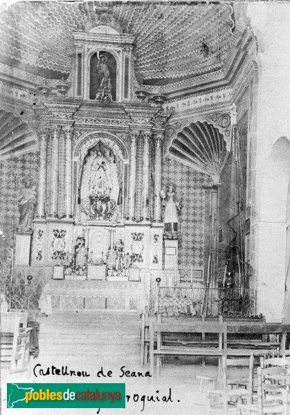 Castellnou de Seana - Sant Joan Baptista, retaule perdut