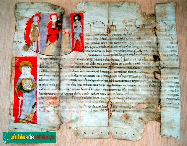 Castellnou de Seana - Pergamí d'indulgències (1335)