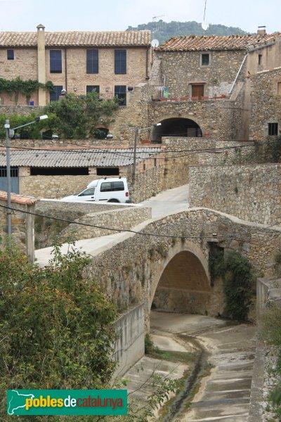 Terrades - Pont al torrent Rissec