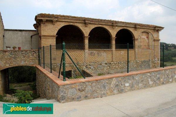 Terrades - Galeria del barri del Mas