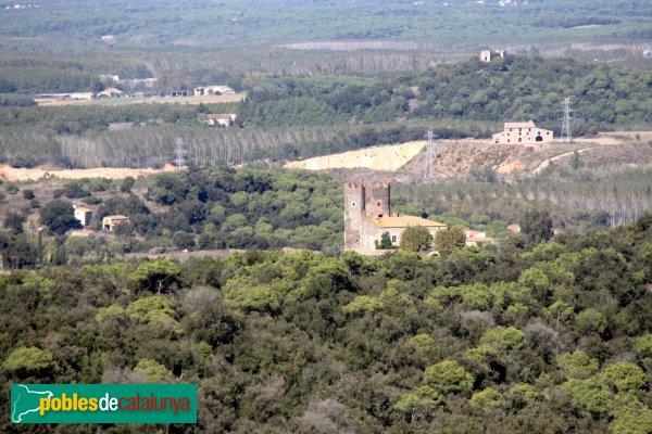 Maçanet de la Selva - Torre de Marata, des de Torcafelló
