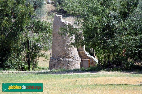 Vilanant - Can Puig, restes d´un molí