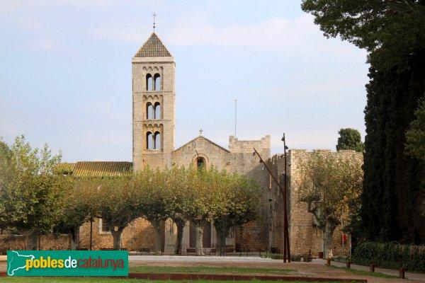 Vilabertran - Monestir, església