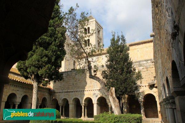 Vilabertran - Monestir, claustre