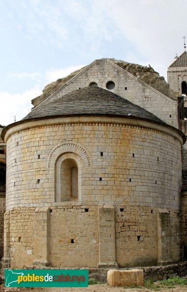 Vilabertran - Església de Santa Maria, absis central