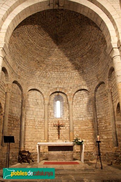 Vilabertran - Església de Santa Maria, capçalera