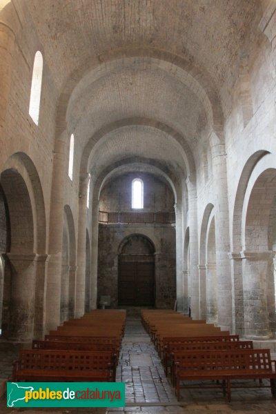 Vilabertran - Església de Santa Maria, interior