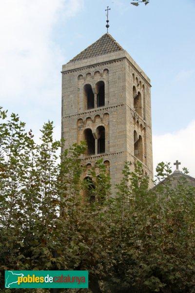Vilabertran - Església de Santa Maria, campanar