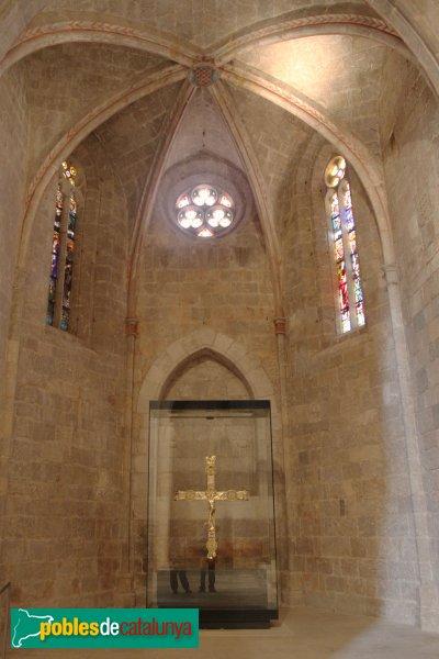 Vilabertran - Església de Santa Maria, capella dels Roabertí