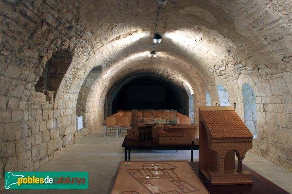Vilabertran - Dependències monàstiques