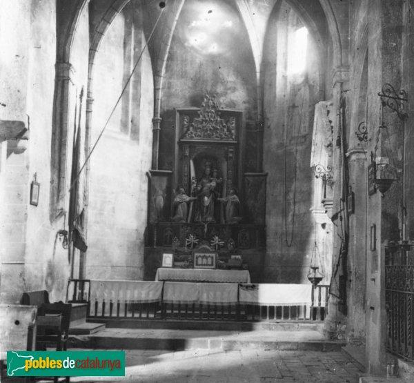Vilabertran - Església de Santa Maria, capella dels Rocabertí