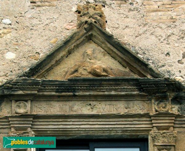 Cabanes - Finestral de Ca l'Àvia, detall
