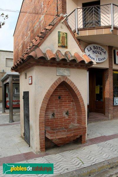 Cabanes - Font de Sant Vicenç