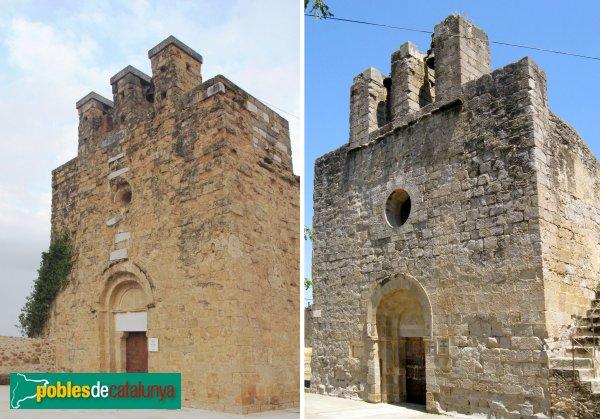 Vilamalla - Esglésies de Sant Vicenç de Vilamalla i de Sant Cebrià de Torroella